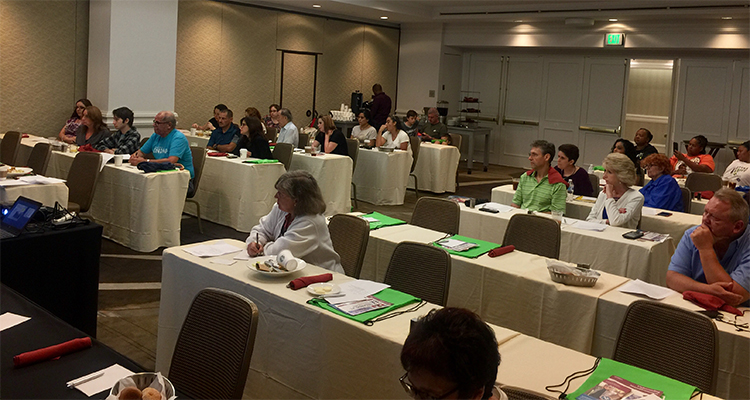 Symposium helps patients connect with experts